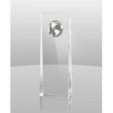 A973 This Wedge Globe Award Acrylic
